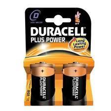 DURACELL PLUS POWER TORCIA D - MN1300 - 2 PEZZI