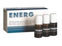 ENERG INTEGRATORE ALIMENTARE ENERGETICO - 10 FIALE DA 10 ML