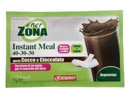ENERZONA INSTANT MEAL 40 30 30 GUSTO COCCO CIOCCOLATO 53 G