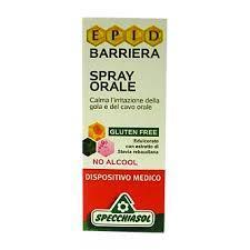 EPID BARRIERA SPRAY ORALE - SENZA GLUTINE E SENZA ALCOOL - 15 ML