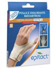 EPITACT ORTESI RIGIDA NOTTE POLLICE DOLORANTE RIZOARTROSI TAGLIA S SINISTRO