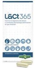 ERBA VITA LACT365 - INTEGRATORE PER FAVORIRE LA DIGESTIONE DEL LATTOSIO - 30 CAPSULE