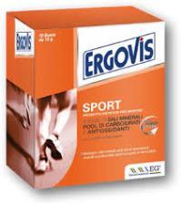 ERGOVIS SPORT INTEGRATORE ALIMENTARE ENERGETICO - 10 BUSTINE