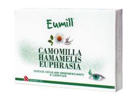 EUMILL GOCCE OCULARI CAMOMILLA HAMAMELIS E EUPHRASIA 10 PIPETTE MONODOSE