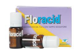 FLORACID INTEGRATORE ALIMENTARE 7 FLACONCINI DA 7 ML
