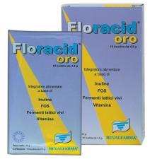 FLORACID OROSOLUBILE INTEGRATORE ALIMENTARE 10 BUSTINE DA 4,5 G