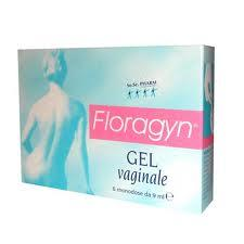FLORAGYN GEL VAGINALE - 6 TUBETTI DA 9 ML