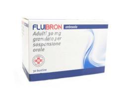 FLUIBRON ADULTI 30 MG GRANULATO PER SOSPENSIONE ORALE - 30 BUSTINE