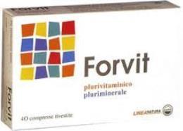 FORVIT INTEGRATORE ALIMENTARE POLIVITAMINICO E MULTIMINERALE - 30 COMPRESSE