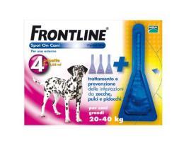 FRONTLINE SPOT ON CANI DA 20-40 KG 4 PIPETTE DA 2,68 ML