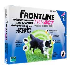 FRONTLINE TRI ACT SPOT ON CANI DA 10 A 20 KG 3 PIPETTE DA 2 ML