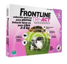 FRONTLINE TRI ACT SPOT ON CANI DA 2 A 5 KG 3 PIPETTE DA 0,5 ML