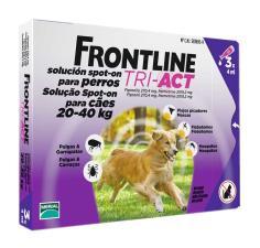 FRONTLINE TRI ACT SPOT ON CANI DA 20 A 40 KG 3 PIPETTE DA 4 ML