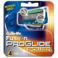 GILLETTE FUSION PROGLIDE POWER 4 RICARICHE