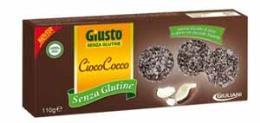 GIUSTO SENZA GLUTINE - CIOCOCOCCO BISCOTTO RICOPERTO CON CIOCCOLATO FONDENTE - 110 G