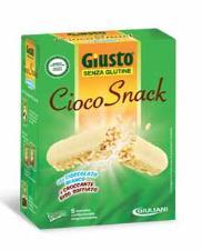 GIUSTO SENZA GLUTINE - CIOCOSNACK CON CIOCCOLATO BIANCO - 125 G