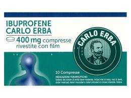 IBUPROFENE CARLO ERBA 10 COMPRESSE DA 400 MG