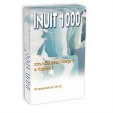 INUIT 1000 INTEGRATORE ALIMENTARE DI OMEGA 3 - 20 CAPSULE