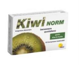 KIWI NORM INTEGRATORE PER CONTRASTARE LA STIPSI - 12 COMPRESSE