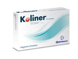 KOLINER INTEGRATORE ALIMENTARE PER MALATTIE EPATO GASTRO INTESTINALI - 30 COMPRESSE