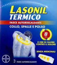 LASONIL TERMICO - FASCE AUTORISCLADANTI COLLO SPALLE E POLSO - 3 PEZZI