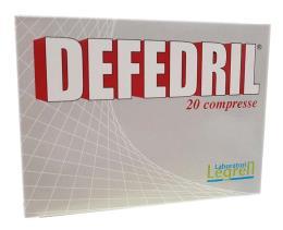 LEGREN DEFEDRIL 20 COMPRESSE DA 1 G
