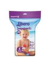 LIBERO SWIMPANTS PANNOLINO MARE TAGLIA M 6 PEZZI