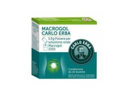 MACROGOL CARLO ERBA 10 BUSTINE