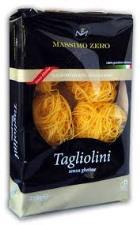 MASSIMO ZERO PASTA A NIDO SENZA GLUTINE - TAGLIOLINI - 250 G