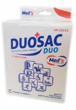 MED'S DUOSAC DUO - SACCHETTO CALDO FREDDO - 2 CONFEZIONI DA 13x25 CM