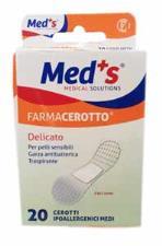 MED'S FARMACEROTTO DELICATO - 20 CEROTTI MISURA MEDIA 19 x 72 MM