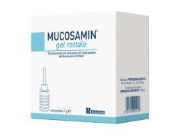 MUCOSAMIN GEL RETTALE 6 MICROCLISMI DA 7 G