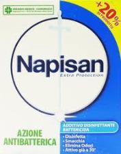 NAPISAN POLVERE - ADDITIVO DISINFETTANTE BATTERICIDA - 600 GR