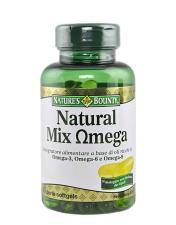 NATURE'S BOUNTY NATURAL MIX OMEGA 60 PERLE SOFTGEL