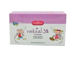 NEBIAL 3% 20 FLACONCINI MONODOSE DA 5 ML