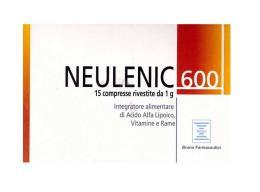 NEULENIC 600 INTEGRATORE ALIMENTARE ANTIOSSIDANTE UTILE CONTRO I RADICALI LIBERI - 15 COMPRESSE