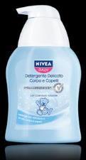 NIVEA BABY DETERGENTE DELICATO CORPO E CAPELLI 250 ml