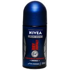 NIVEA FOR MEN DEO ROLL ON DRY IMPACT - 50 ML