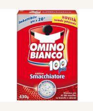 OMINO BIANCO 100 PIU' ADDITIVO SMACCHIATORE 430 G