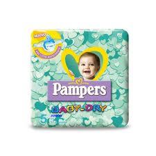 PAMPERS BABY DRY 5 - PANNOLINI JUNIOR 11-25 KG - 17 PEZZI