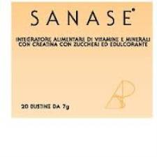 SANASE INTEGRATORE ALIMENTARE DI VITAMINE E MINERALI - 20 BUSTE DA 7 G