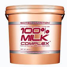SCITEC NUTRITION 100x100 MILK COMPLEX - PROTEINE DEL LATTE IN POLVERE GUSTO CIOCCOLATO BELGA - 5000 G