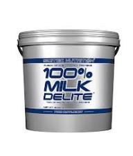 SCITEC NUTRITION 100X100 MILK DELITE - PROTEINE DA SIERO DI LATTE GUSTO YOGURT E LAMPONE - 5000 G
