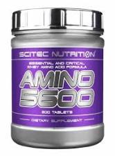 SCITEC NUTRITION AMINO 5600 - INTEGRATORE DI AMINOACIDI - 200 COMPRESSE