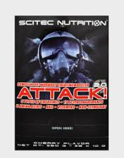 SCITEC NUTRITION ATTACK 2.0 - PROMOTORE COMPLESSO PRE WORKOUT GUSTO CHERRY - 25 BUSTINE DA 10 G