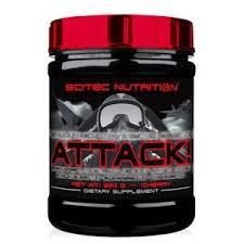 SCITEC NUTRITION ATTACK 2.0 - PROMOTORE COMPLESSO PRE WORKOUT GUSTO CHERRY - 320 G