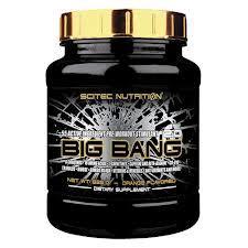 SCITEC NUTRITION BIG BANG 2.0 - INTEGRATORE ALIMENTARE IN POLVERE GUSTO ARANCIA - 825 G