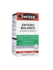 SWISSE ENTERO BALANCE INTEGRATORE PER L'EQUILIBRIO DELLA FLORA INTESTINALE - 20 CAPSULE