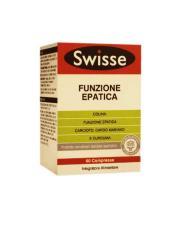 SWISSE FUNZIONE EPATICA INTEGRATORE PER IL BENESSERE DEL FEGATO - 60 COMPRESSE