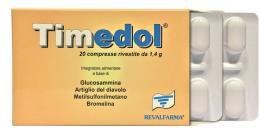 TIMEDOL INTEGRATORE ALIMENTARE 20 COMPRESSE DA 1,4 G